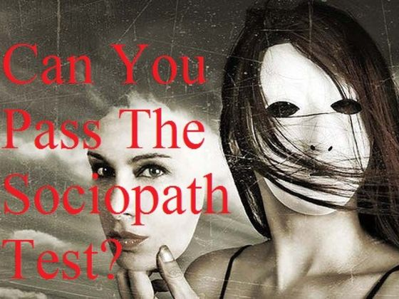 How High Will You Score On This Sociopath Test?