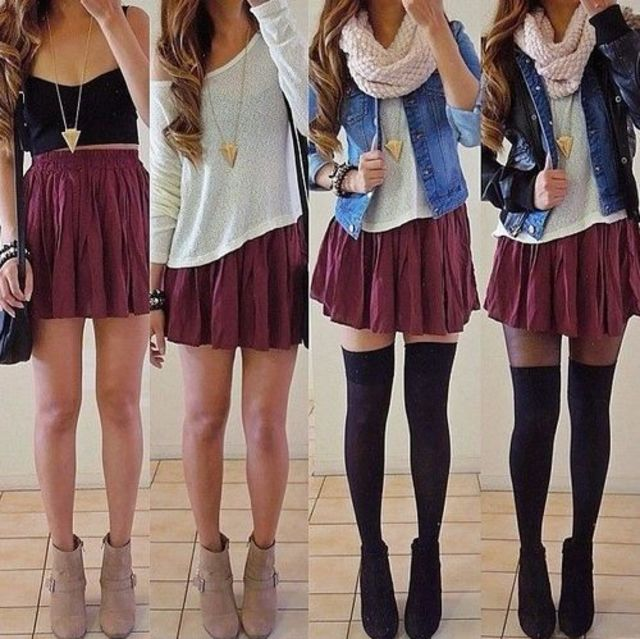 What Tumblr Girl Stereotype Are You? | Playbuzz Knee High Socks Summer Outfits