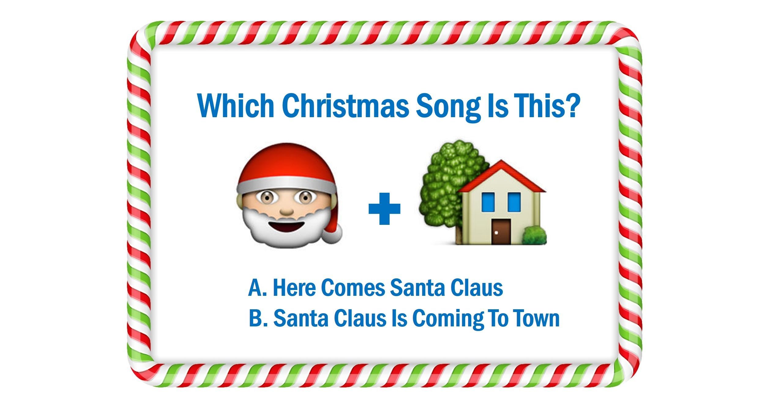 Can You Guess These 14 Christmas Songs From The Emojis? | Playbuzz