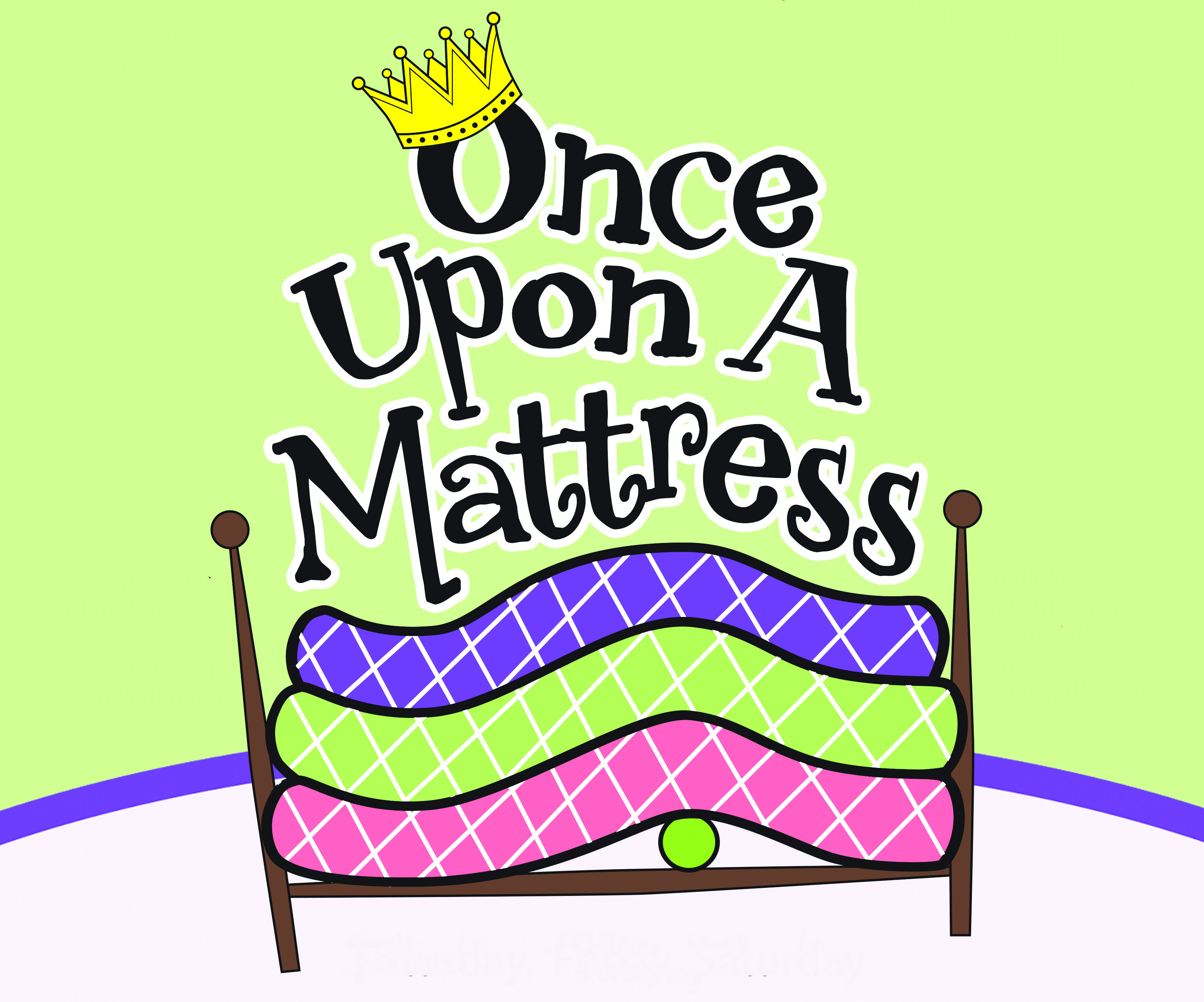 once upon a mattress poster. Once Upon A Mattress Poster T