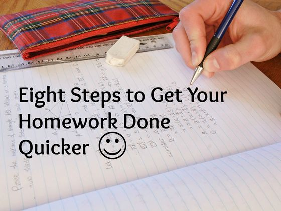 How To Do My Homework Really Fast: The Best Approach