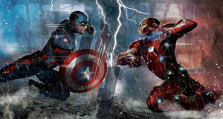 Captain America o Iron Man a quin apoyas en Civil War  Playbuzz