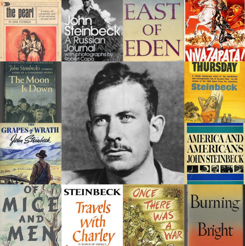 the life and works of john ernst steinbeck John steinbeck, writer: the grapes of wrath john steinbeck was the third of four children and the only son born to john ernst and olive hamilton steinbeck salinas high school in 1919 and attended classes at stanford university, leaving in 1925 without a degree he was variously employed as a sales see full bio.