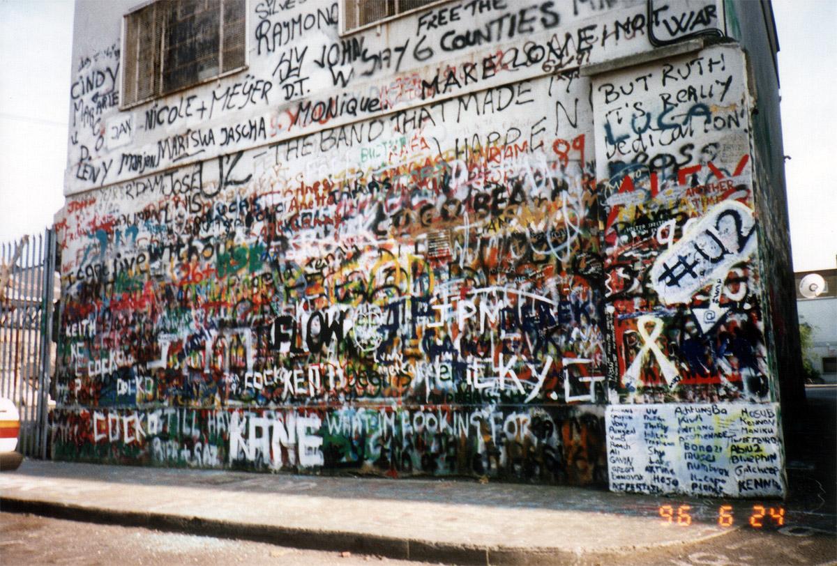 U2 graffiti wall location - U2 Graffiti Wall Location 20