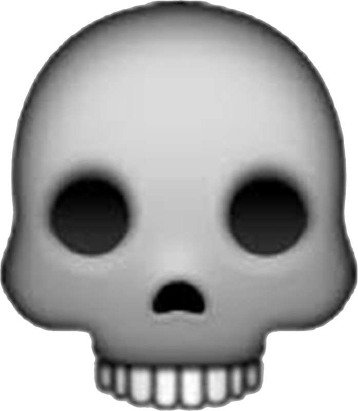 💀 Skull Emoji (U 1F480/U E11C)