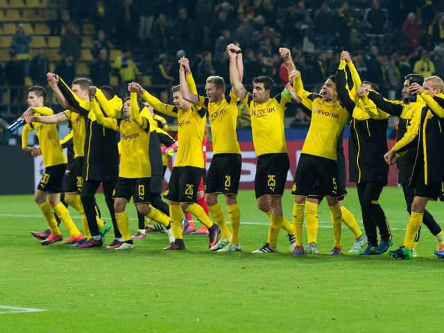 champions league bvb gruppe