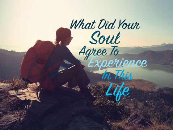 What Did Your Soul Agree To Experience In This Life?