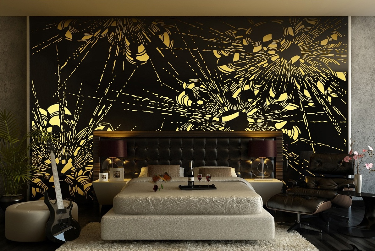 Perfect Which Teamus Interior Style Suits You Playbuzz With Black And  Yellow Room Design Part 38