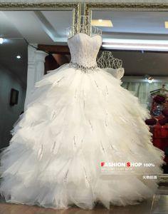 Big Fluffy Wedding Dresses
