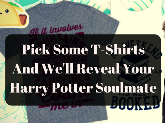 Pick Some Funny T-shirts And We'll Tell You Which Harry Potter Character You Are