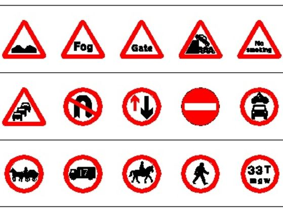 Road Signs Quiz >> Can You Actually Identify Road Signs Playbuzz