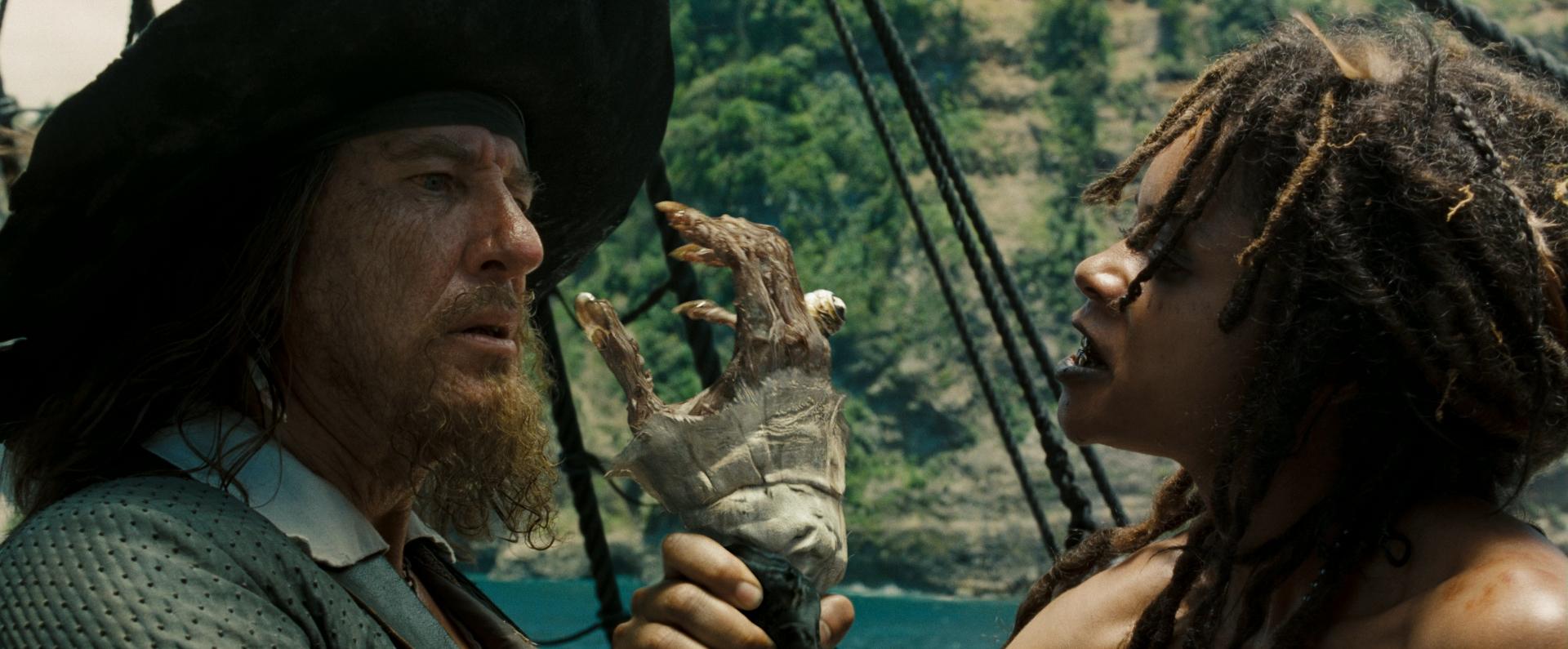 pirates of the caribbean davy jones actor