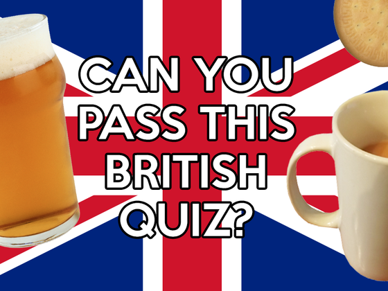 Can you pass this quiz to prove how British you really are?