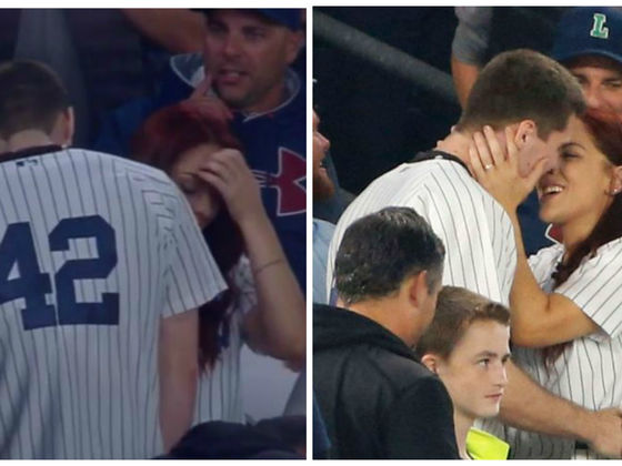 This Guy Dropped The Ring At A Baseball Game In An Epic Proposal