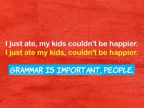 Do You Actually Have Grammar-OCD?
