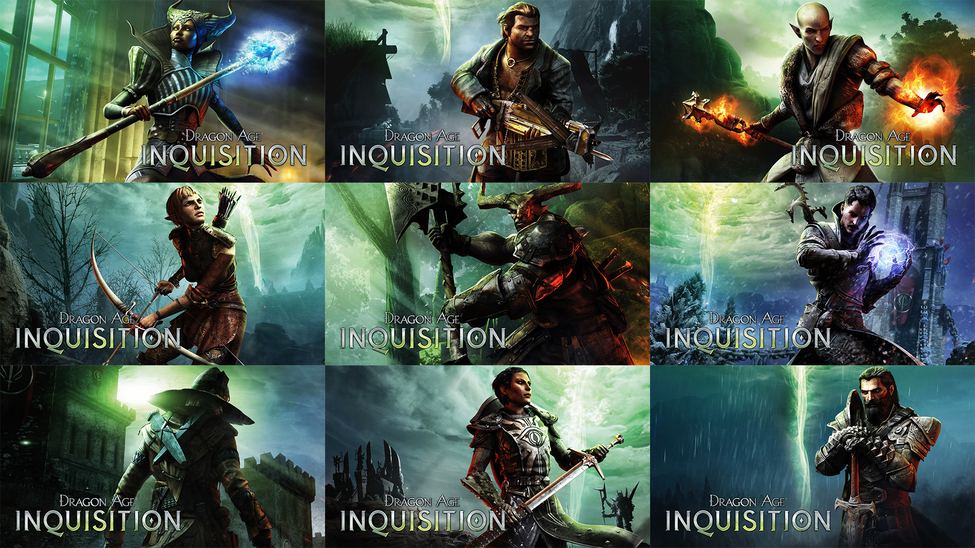 Dragon Age Inquisition Character Poster What Dragon Age Inquisition