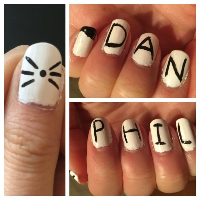 10 Dan And Phil Nail Art Creations That Will Make You