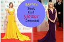 The BAFTA Awards: Best And Worst Dressed - You Decide!