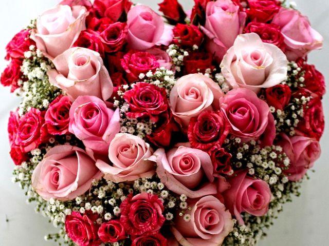 Einen Strauß Rosen!