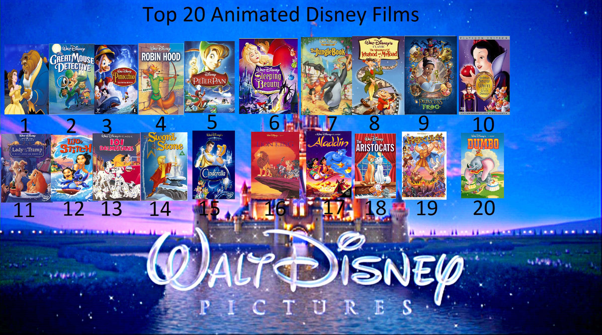 Disney Animated Movies
