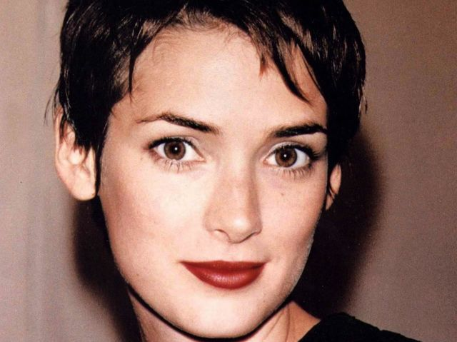 Winona ryder black hair young