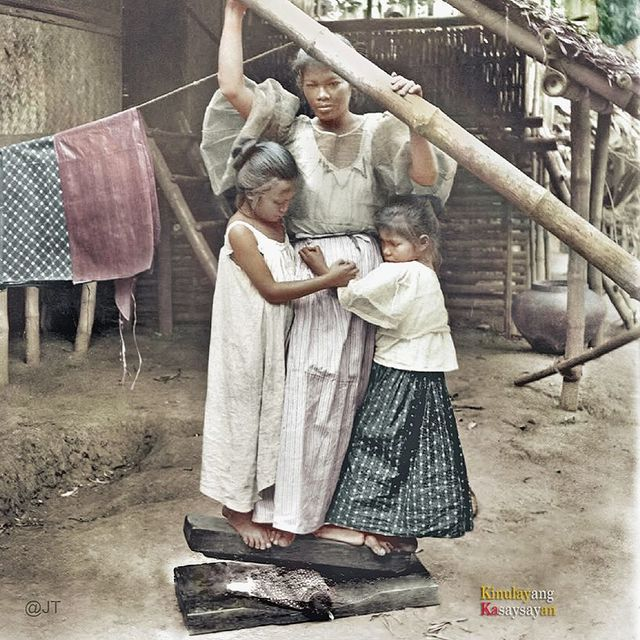 51 Old Colorized Photos Reveal The Fascinating Filipino