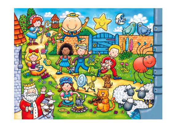 List Of Nursery Rhymes Characters Thenurseries