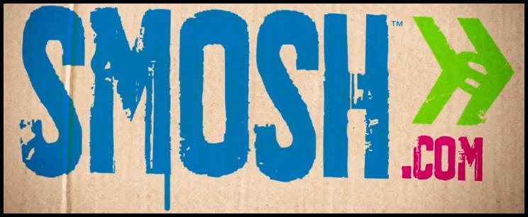 Smosh Store Merch - Floral Logo Crop (White)