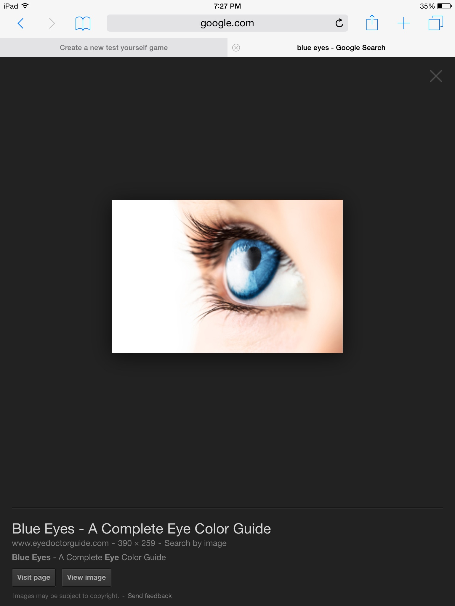 what eye color fits your personality playbuzz