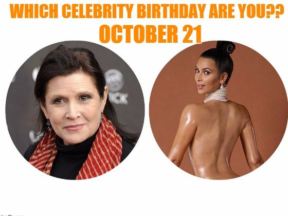 October 21 - Famous Birthdays - On This Day