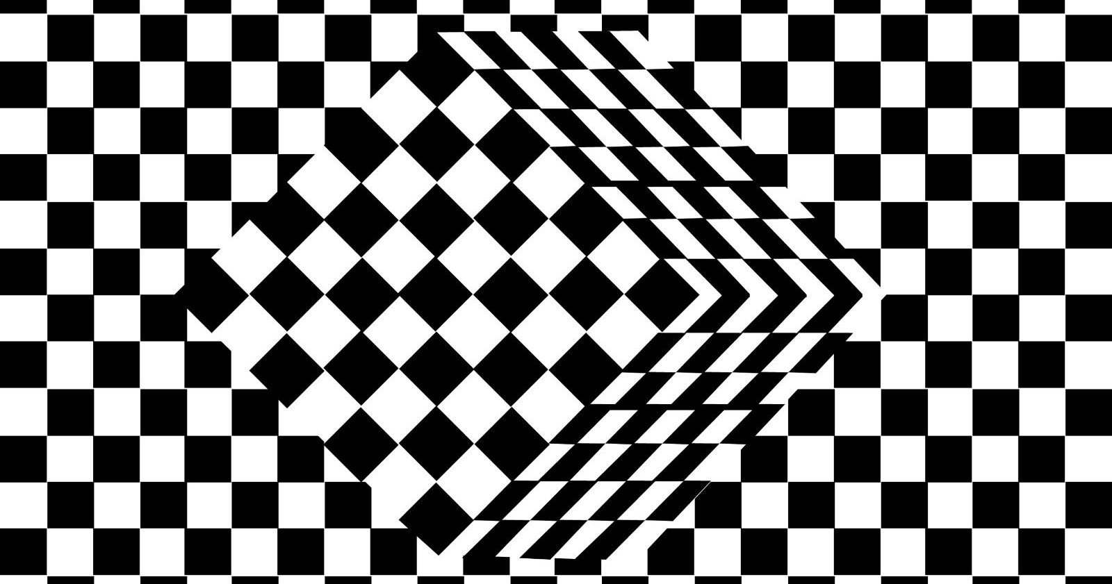 optical illusion illusions coloring eyes cube pages brain 3d magic op vector playbuzz inner cool why experimental adult mind eye