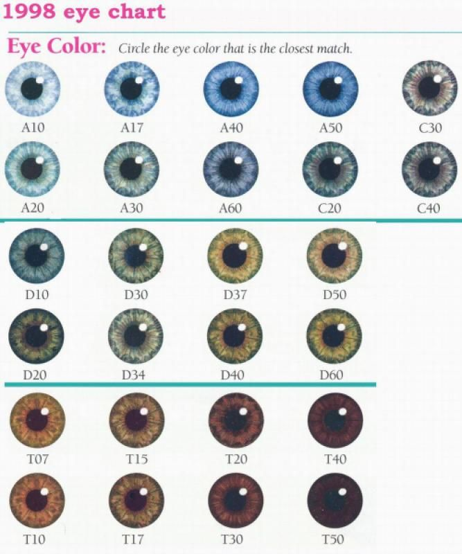 What Is Your Actual Eye Color Playbuzz