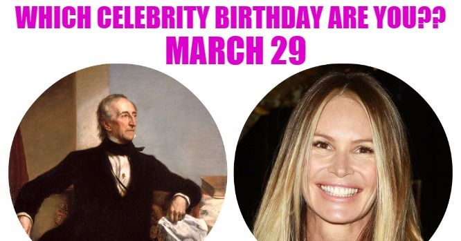 March 29 Celebrity Birthdays No One Tells You About