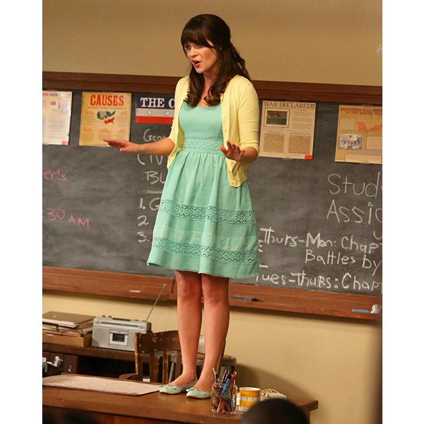 Jessica Day New Girl Outfits