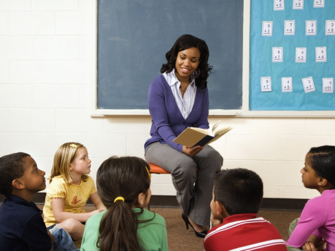Image result for black woman teacher in the classroom
