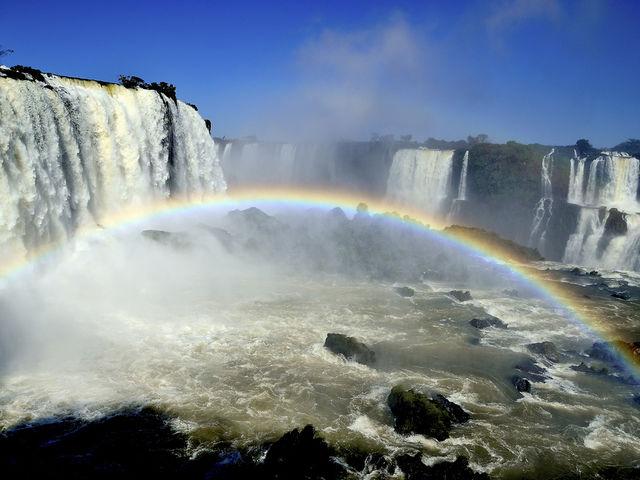 Las Cataratas de Iguazú, entre Brasil y Argentina