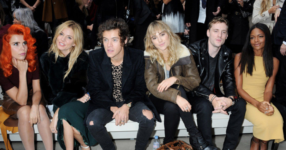 Can You Name These Celebs Spotted At Fashion Week Playbuzz