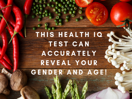 This Health IQ Test Can Accurately Reveal Your Gender And Age!