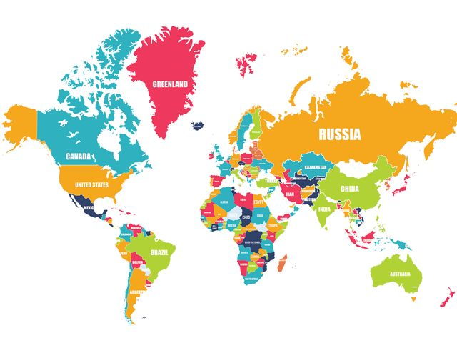 Only 10 of people can spot whats wrong with this world map playbuzz russia greenland brazil australia greenland canada all switched places did you find them all gumiabroncs Gallery