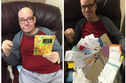 This Man With Special Needs Was All Alone On His Birthday, So The Internet Responded With Hundreds Of Cards And Gifts!