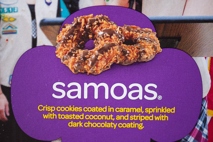 Cookie girl samoas scout