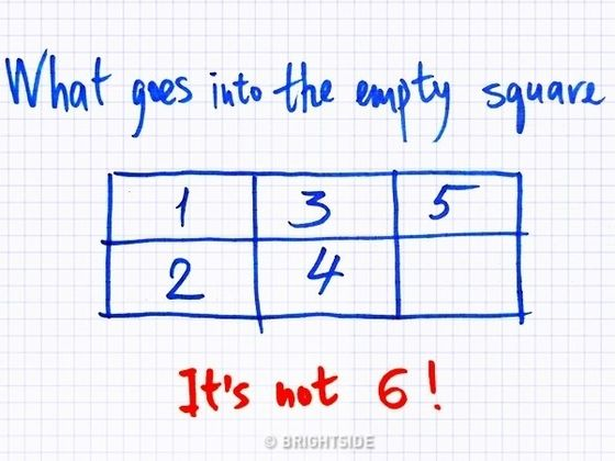 One Simple Puzzle That Has Nothing to do With Math