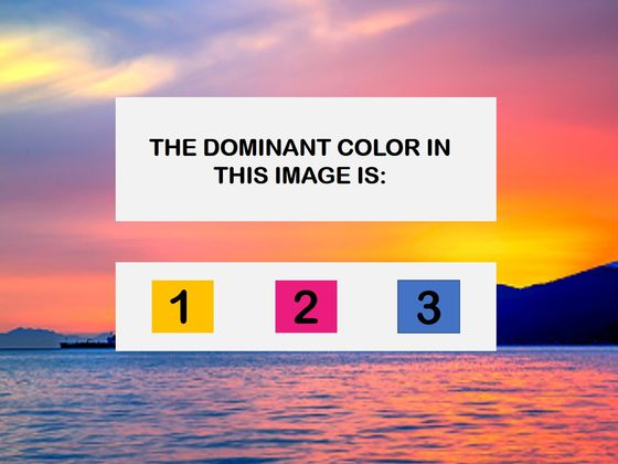 The Most Beautiful Test In The World Will Determine Your Dominant Emotional State!