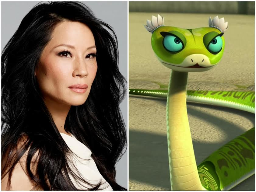 Image result for lucy liu viper in kung fu panda