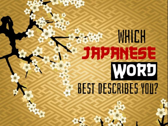 Which Japanese Word Best Describes You?