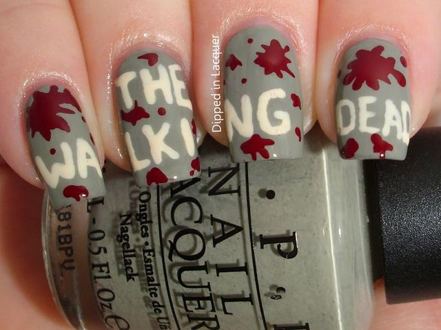 14 amazing nail art designs that deserve an emmy playbuzz prinsesfo Choice Image
