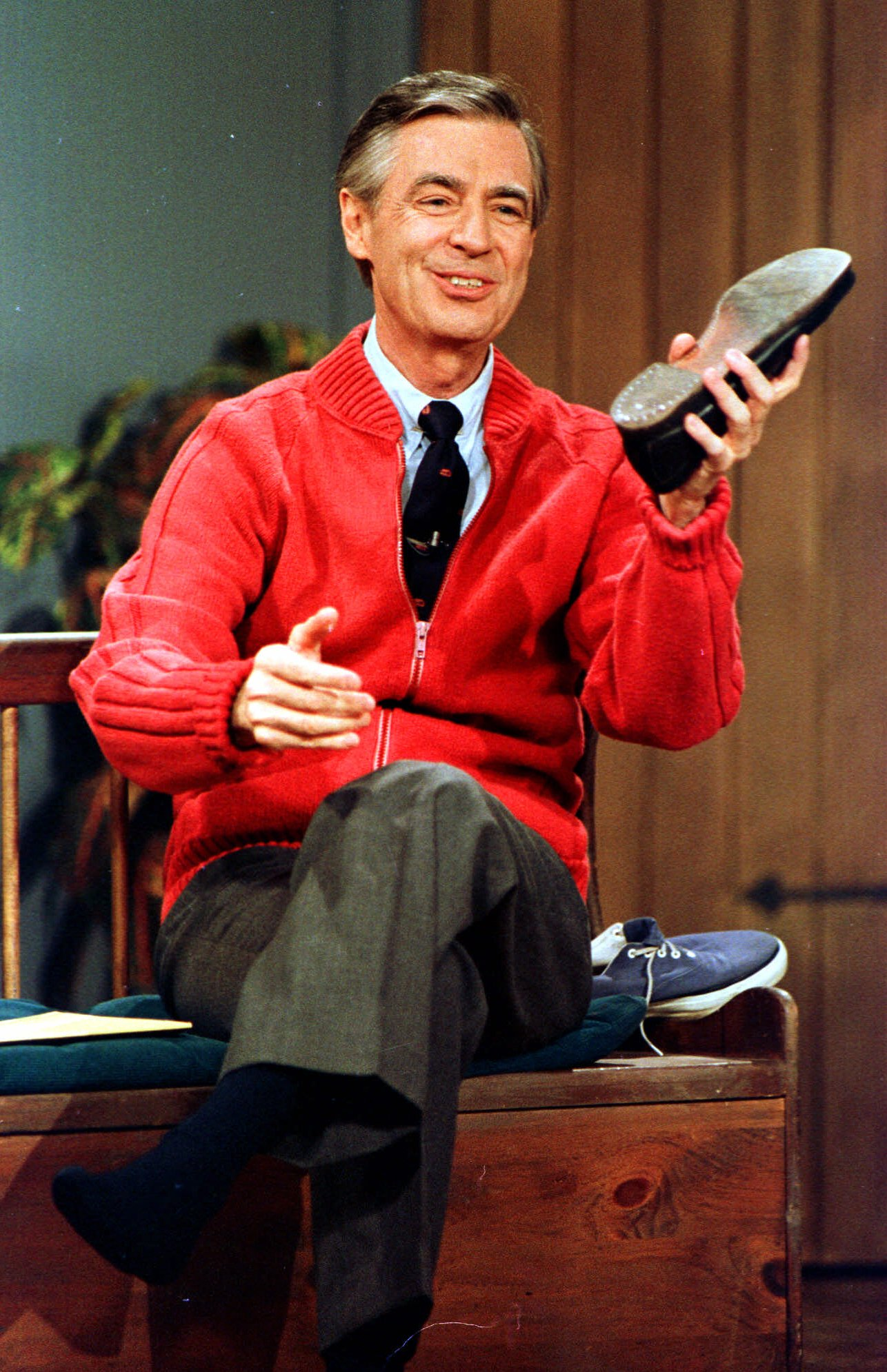 Mister Rogers Sneakers Remember Mister Rogers'