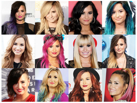 Which Demi Lovato\'s Hair Should Be Your Hair? | Playbuzz