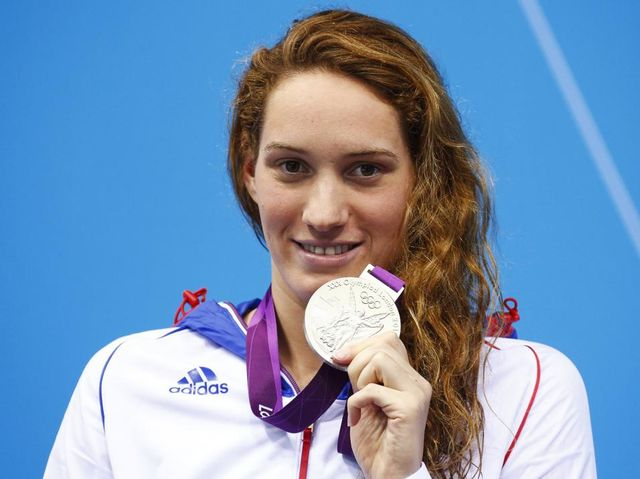 Camille Muffat (FRA) - Nadadora de 26 años