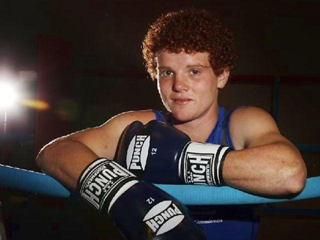 Billy Ward (AUS) - Boxeador de 20 años